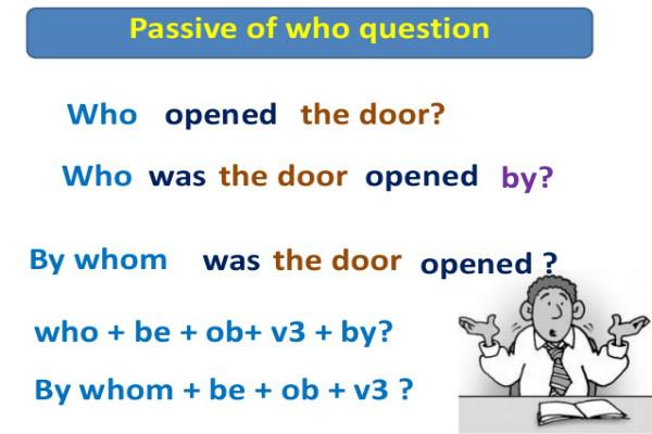 Câu bị động dạng câu hỏi